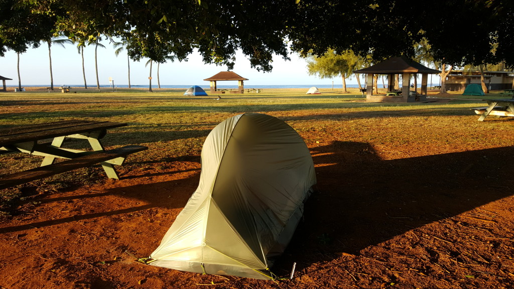 Salt Pond Park Camping, Kauai