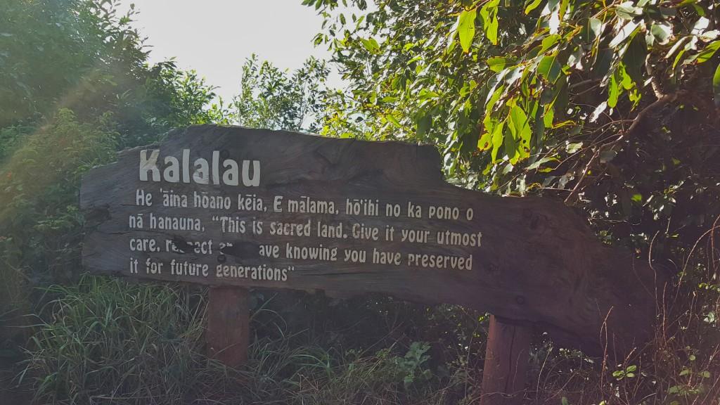 Kalalau Trail in Napali Coast, Kauaii