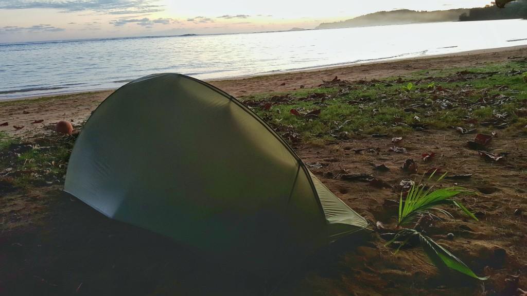 Anini Beach Camping, Kauai