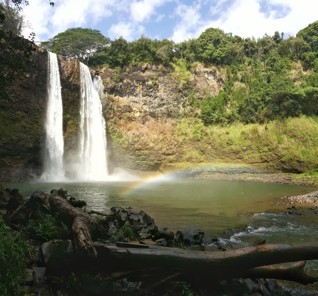 Wailau Falls, Wailau River State Park, Kauai