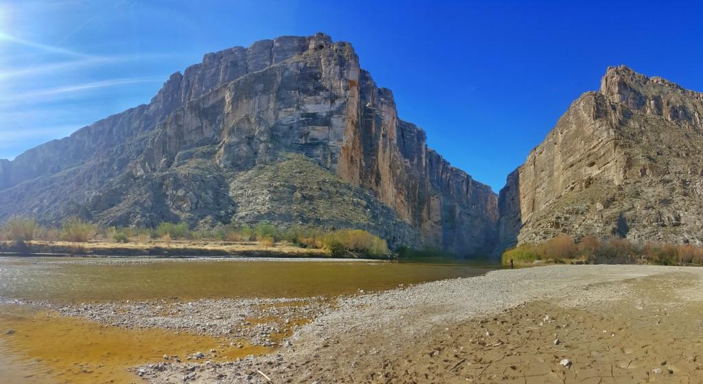 Santa Elena Canyon and Ross Maxwell Scenic Drive, Big Bend National Park, Texas