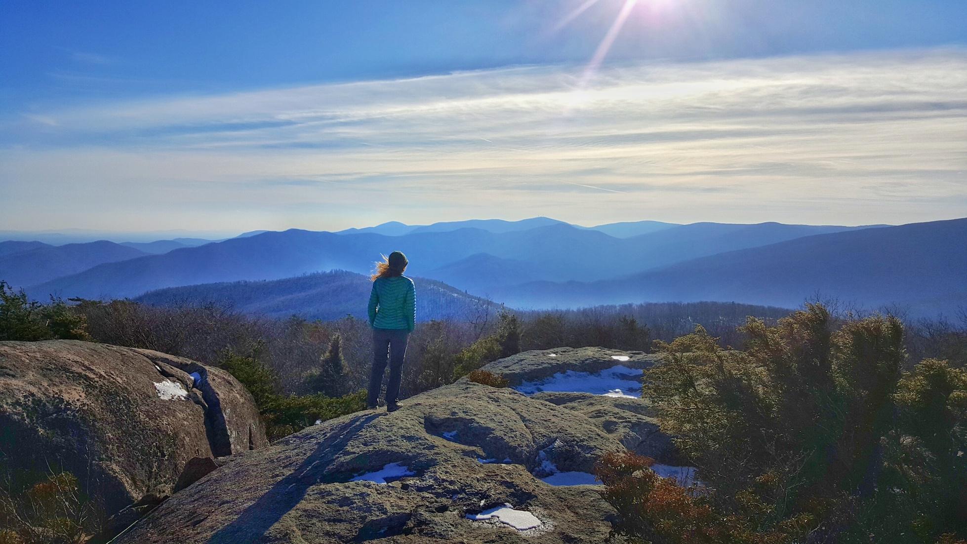 Shenandoah Drive and Hiking Old Rag, Shenandoah National Park, Virginia