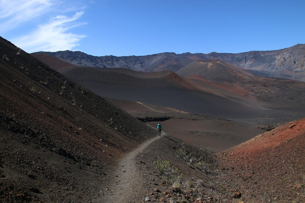 Dayhike the Haleakala Crater, Maui, Hawaii. Check out more at www.beardandcurly.com