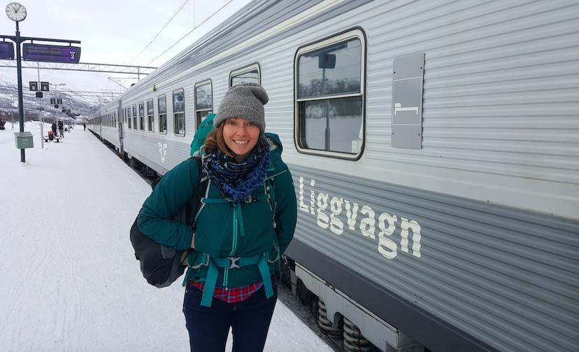 The Train to Abisko, Abisko National Park, Sweden
