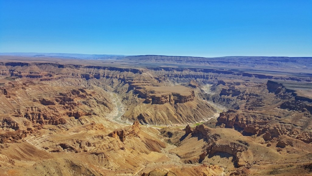 Fish River Canyon panorama in Hobas, Ais-Ais