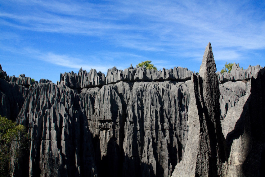 incredible rock formations at Grand Tsingy de Bemeraha