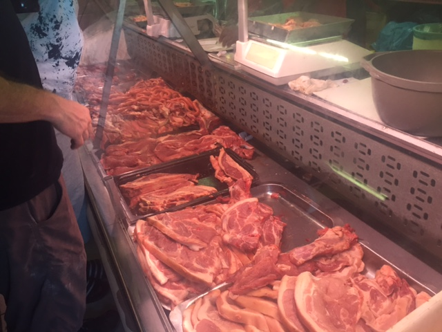 Meat Selection at M'Zoli's
