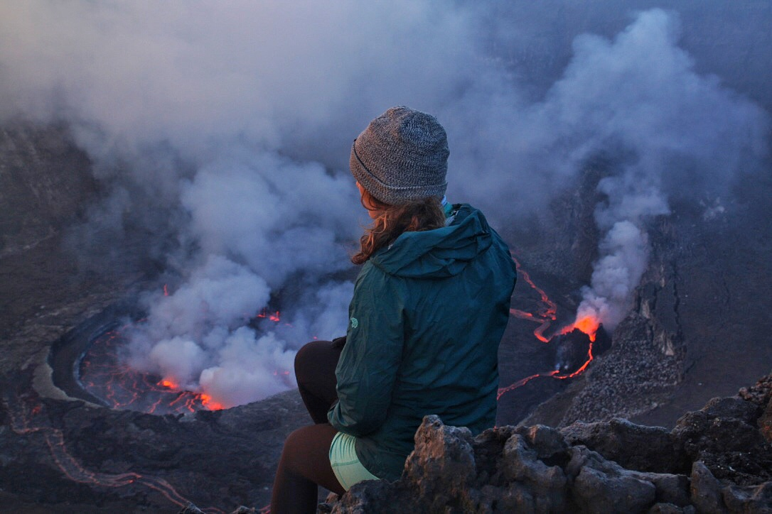 Back from the DRC, Congo, Democratic Republic of Congo, Virunga National Park, Virunga Mountains, Hiking, Nyiragongo Volcano