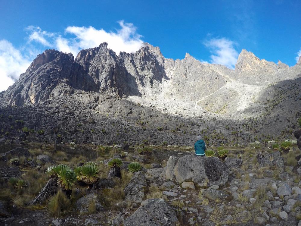 Mount Kenya National Park, Mountain, Hiking, Trekking, Africa, Kenya Batian, Lenana