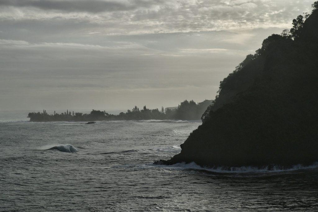 View at Kaumahina Wayside Lookout