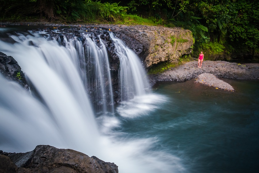 Togitogiga Falls, Samoa Country Guide, Ultimate Backpacking Guide to Samoa, Samoa on a Budget, Check out more at www.beardandcurly.com.