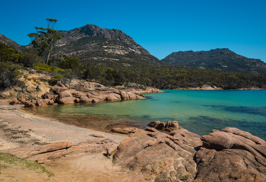 The Azure Waters of Freycinet National Park