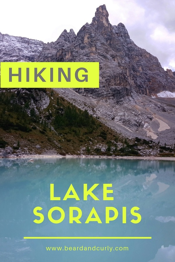 All the information you need to hike to Lake Sorapis, (AKA Lago Di Sorapis or Sorapiss) Hike to this stunning lake in the Dolomites was an amazing experience. By: Beard and Curly (@beard_and_curly)