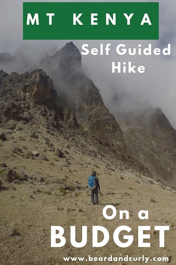 How to Hike Mount Kenya Self-Guided and on a Budget. Budget Guide Mount Kenya, Hike Mt Kenya, Hiking Mount Kenya, Naro Moru, Sirimon, Peak Lenana, Sunrise Hike Mt Kenya, #hiking #mountkenya, #backpacking By: Beard and Curly (@beard_and_curly)