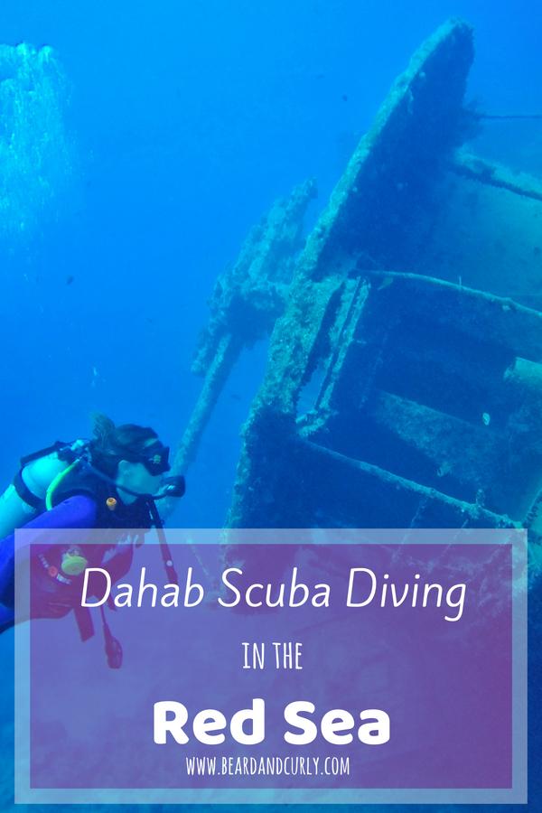 Scuba Diving in Dahab, Dahab Scuba Diving in the Red Sea, Alexandria, Nile, Luxor, Aswan, Cairo, Dahab, Scuba, Red Sea, White Desert, Egypt, Middle East #egypt #travel #tourism #backpacking www.beardandcurly.com