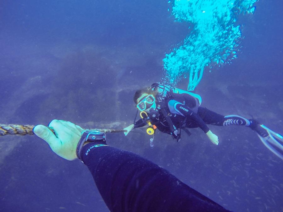 Wreck Diving in Coron, Scuba Diving in Coron, Scuba Diving in the Philippines, Wreck Diving in the Philippines, Palawan, Palawan Scuba Diving, Palawan Wreck Diving, PADI, SSI, Barracuda Lake, Diving at Barracuda Lake, WW2 wreck diving, beardandcurly.com