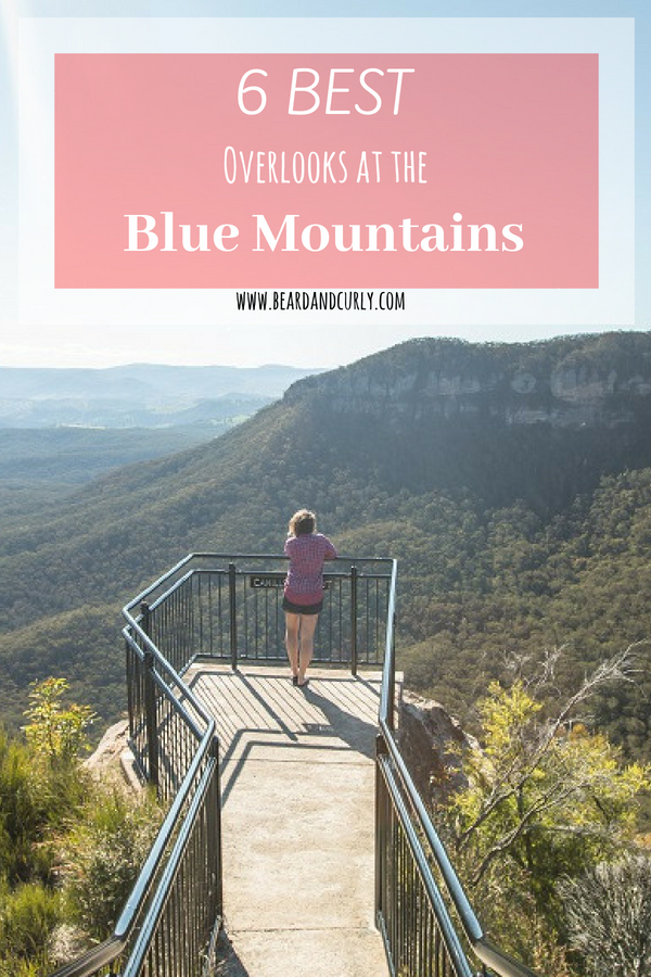 Top 6 Overlooks in the Blue Mountains, Best Overlooks Blue Mountains, Blueys, Viewpoints, Scenic, Hiking, #lookout #viewpoint #blue #mountains #australia www.beardandcurly.com