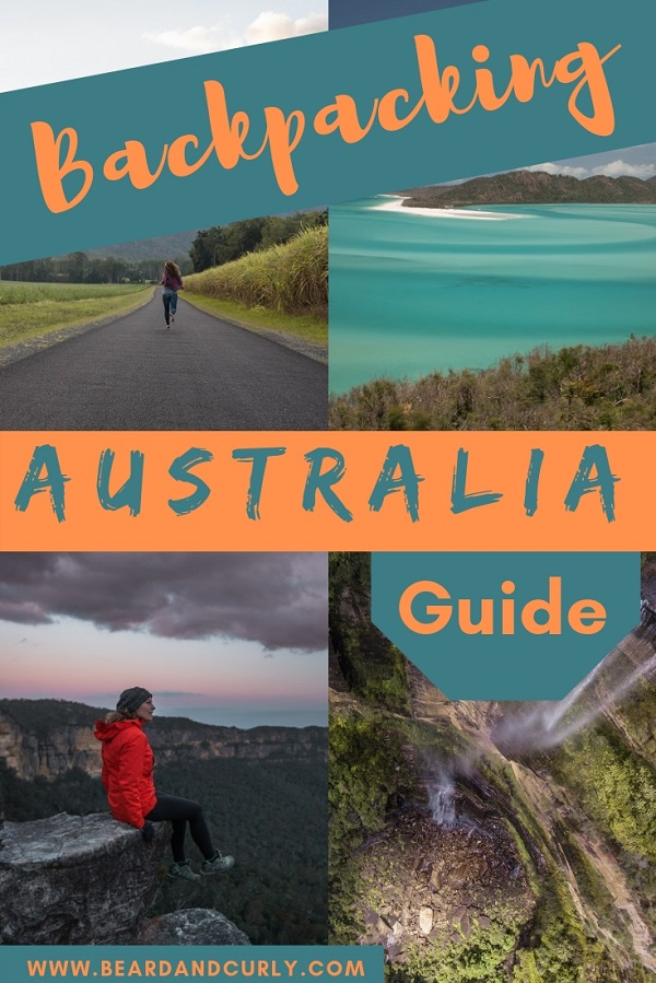 Ultimate Backpacking Guide to Australia, Great Ocean Road, Queensland, Sydney, Road Trip, Whitsundays, Outback, Great Barrier Reef, #australia, #backpacking, #roadtrip www.beardandcurly.com