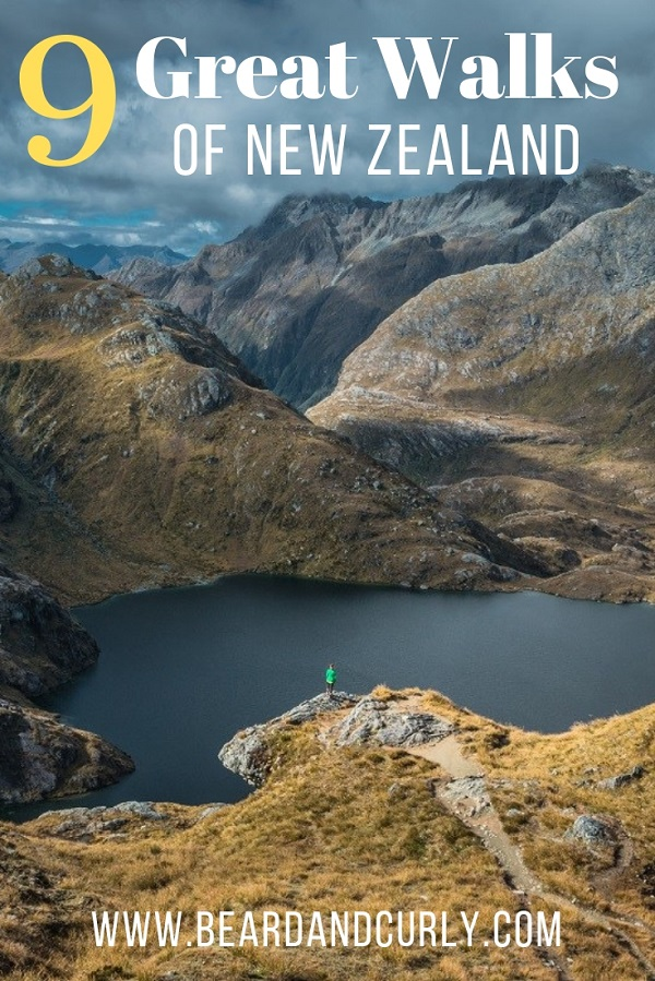The Nine Great Walks of New Zealand are seriously great. We hiked almost all of them. See the beauty New Zealand has to offer. By: Beard and Curly (@beard_and_curly)