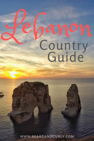 We didn't know what to expect when visiting Lebanon, but it was one of those countries that surprised us. From the amazing wine, incredible food, beautiful scenery, and wonderful people. The Lebanese culture is amazing. The ruins are historic and the beaches are off the beaten path on the Mediterranean. What are you waiting for? This guide covers everything you need for Lebanon #lebanon #middleeast #travel By: Beard and Curly (@beardandcurly)