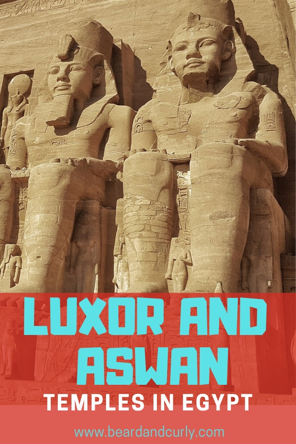 Egypt is the land of pharoes and falafel. But also some incredible and well preserved temples. The best places to see temples in Egypt is in Aswan and Luxor. This guide covers the Best Temples of Luxor and Aswan, Egypt. Whether you are cruise down the Nile or DIY you should add these temples to your bucket list. #egypt #temples #backpacking By: Beard and Curly (@beardandcurly)