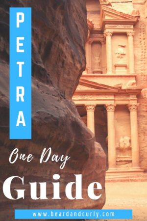 Petra One-Day Itinerary, Petra Guide, Pertra One Day Guide, Jordan Travel, Petra Travel, Petra sights, How to see Petra, World Wonders #petra #ruins #jordan By: Beard and Curly (@beard_and_curly)