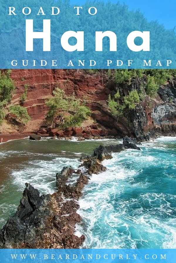 Ready for the most epic road trip in Hawaii? Our Road to Hana Ultimate Guide covers the 15 best stops, a printable PDF Map, and tips for the highway to Hana. We go into detail about beaches, lookouts, waterfalls, hiking, bamboo forest, Red Sand beaches, and other instagrammable places. Our PDF map makes it easy. #roadtrip #hana #maui #hawaii By: Beard and Curly (@beardandcurly)