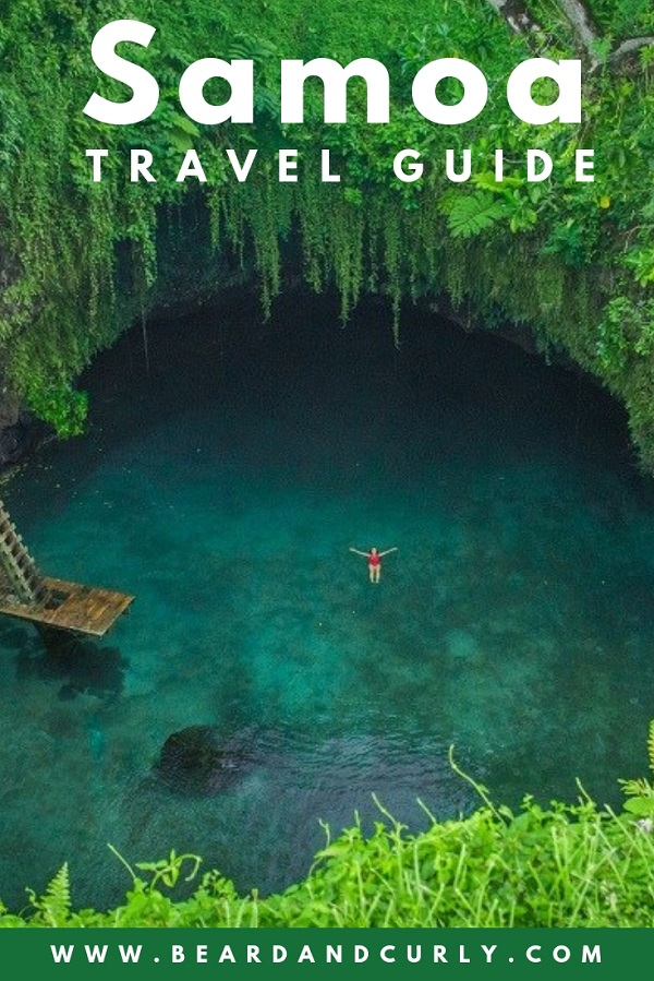 Samoa is one of the most unique and friendliest places we have ever visited. It's also cheap! This country guide covers everything you need to know about visiting Upolu and Savaii. We cover the most beautiful beaches like Lalomanu beach and the incredible To-Sua Ocean Trench. We staying in the open air fales and stayed on a budget. We even biked around the whole island of Savaii. #tropical #beach #samoa #backpacking By: Beard and Curly (@beard_and_curly)